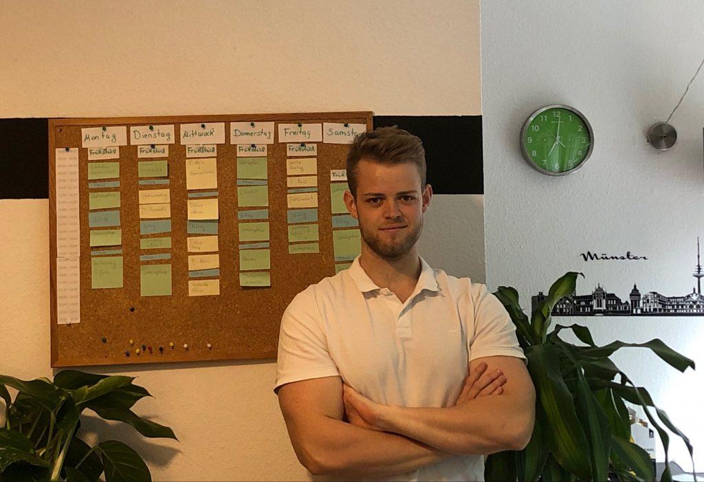 Timeboxing Board und Sebastian Reiners