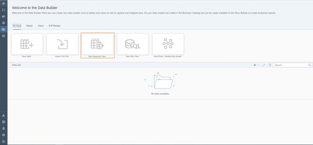 Data Warehouse Cloud: Einstieg in die Datenmodellierung