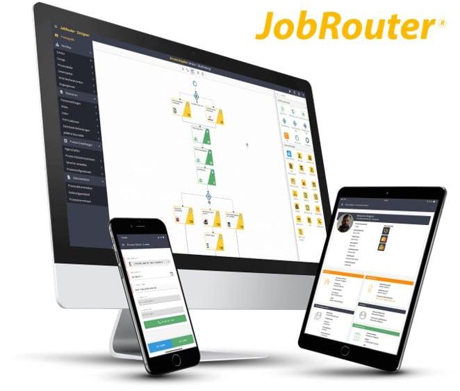 Die Low-Code-Digitalisierungsplattform JobRouter